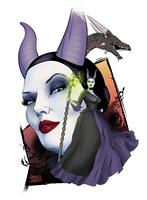 Maleficent by gregbo