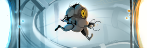 Portal 2: Minion version by JoEttaShinigami