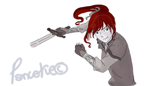 Warrior Hayley by Pancake9Andy