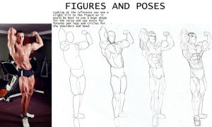 Tutorial section... drawing figures and poses by Somdude424