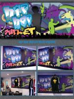 Hip Hop Outlet Main Poster by TumanT