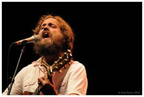 Iron and Wine by escape-is-at-hand