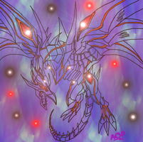 Red-Eyes Darkness Dragon by AESD