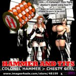 Hammer And Tits (front cover) by EdgarSlam