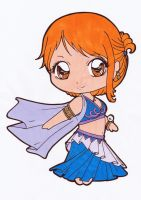 Nami Chibi Colored by Maiko-Girl