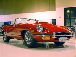 Series II Jaguar E-Type conv by Partywave