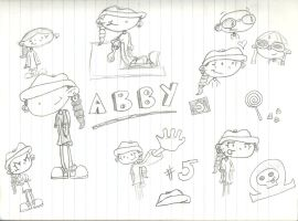 KND Sketches - Abby by Genincat