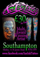 Advert for Total Tattoo 02/08/12 by IanInkTattoo