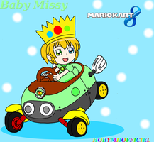 BABY MISSY IN MARIO KART 8 by HOBYMIIOFFICIEL