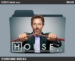House M.D. Folder ICON by kasbandi