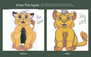 Draw This Again Lions by RunningSpud