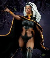 Nichelle Nichols as Storm by Simon-Williams-Art
