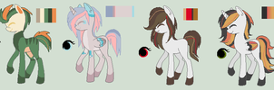 Pony Adoptable Batch 2# CLOSED by LuckyCloverAdopts