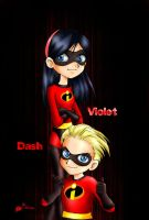 The incredibles by Ileranerak