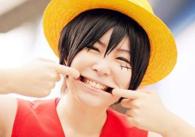 Monkey D Luffy by r-kira