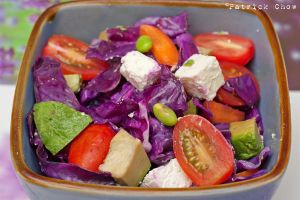 Colourful salad by patchow
