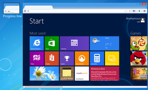 My Firefox on Windows 8 by link6155