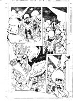 The ClanDestine10 pag.7 pencils by PinoRinaldi