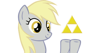 Derpy Hooves Triforce by Nintendoxs