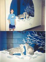 Grade 12 Lynx Mural by Crystal-Ice47