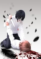 Cosplay - Jeff the Killer and Jeff by MHD0524