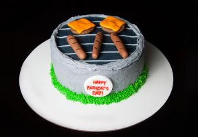 Father's Day BBQ Cake by KayleyMackay