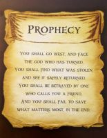 Percy's Quest Prophecy by Artemis015