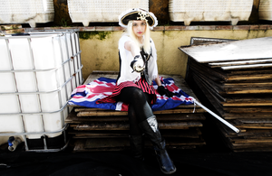 Pirate!Fem!England Cosplay #4 by YamiMana