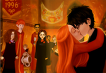 Harry and Ginny do shiath by greendesire
