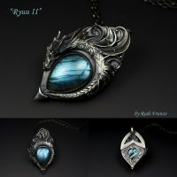 Ryuu II - Dragon Pendant by rodicafrunze