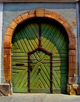 Green Door Buda by CultureQuest