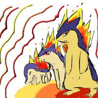 Cyndaquil evolution by Nightscore07