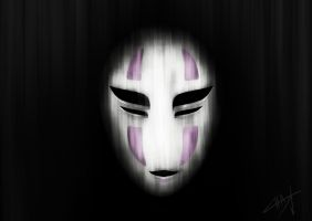 speed painting No-face [40min] by Zerox-II