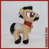 Pony Stark Plush - 1 of 5 by s-k-roberts