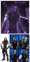 Undertaker - Custom Figure by Simon-Williams-Art