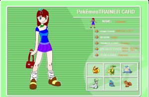 My Pokemon Trainer OC by CaptainGeeegee