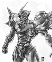 Request- Guyver II Gigantic by Rawbot