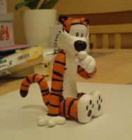 Hobbes Sculpture by shaneandhisdog