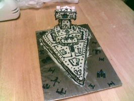 Imperial Star Destroyer by Isolder74