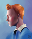 Tintin by SuperKusoKao