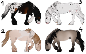 Adoptables CLOSED by i3nici