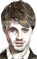 Daniel Radcliffe Watercolor by JunebugHardee