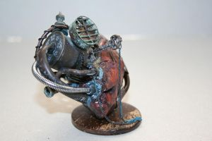 steampunk mechanical heart by tokaracer
