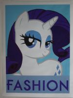 Miss Rarity by IceRoadLion