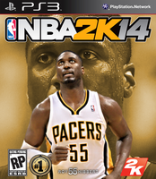 Roy Hibbert NBA2K14 Cover - PS3 by 1madhatter