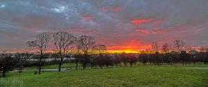 Sunset From Primrose Hill by dynamick
