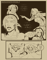 Caylrinn and Ney Comic Commission by CrewOfTheBloodyDawn