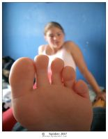 Giantess step sister by LPFAN1997