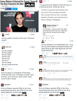 Oh poor Emma Watson by MexPirateRed