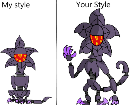 Style Meme With Prototype By Darkmoontekaplant by Mikefrightmare